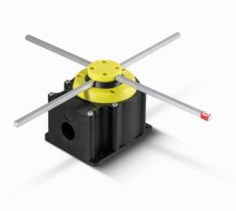 FCR006 Chave Elétrica tipo Fim de Curso Cruzeta 90 graus 04 contatos e 2 velocidades